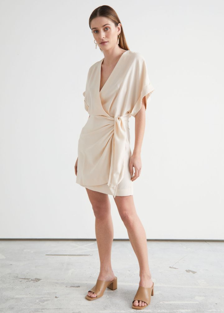 Robe portefeuille Relaxed Wrap - And Other Stories