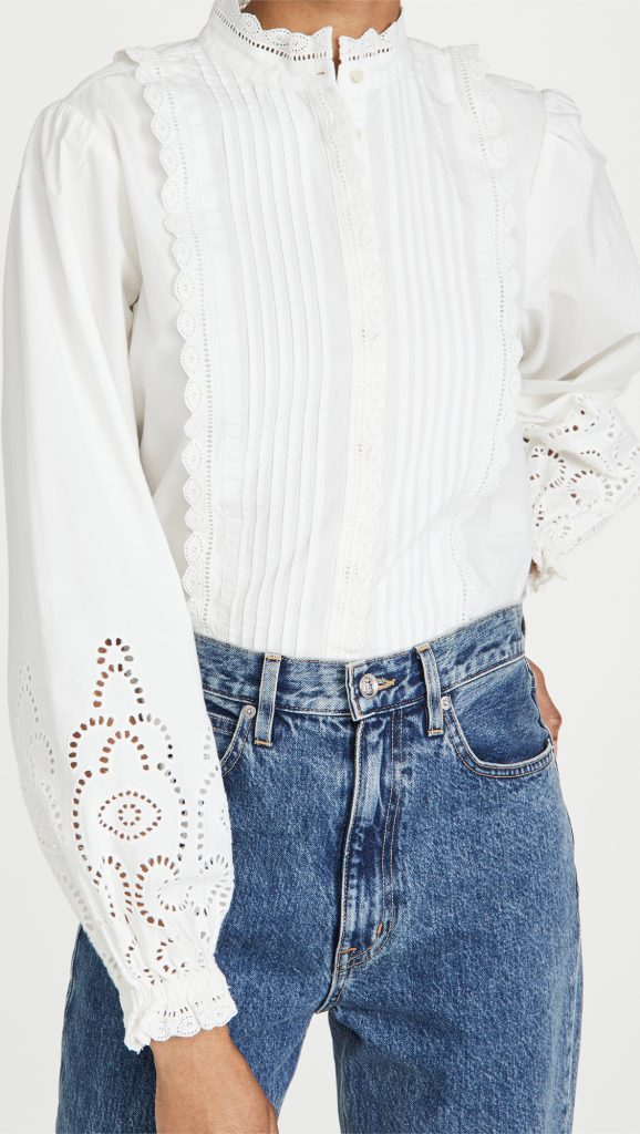 Blouse Blanche - Scotch & Soda